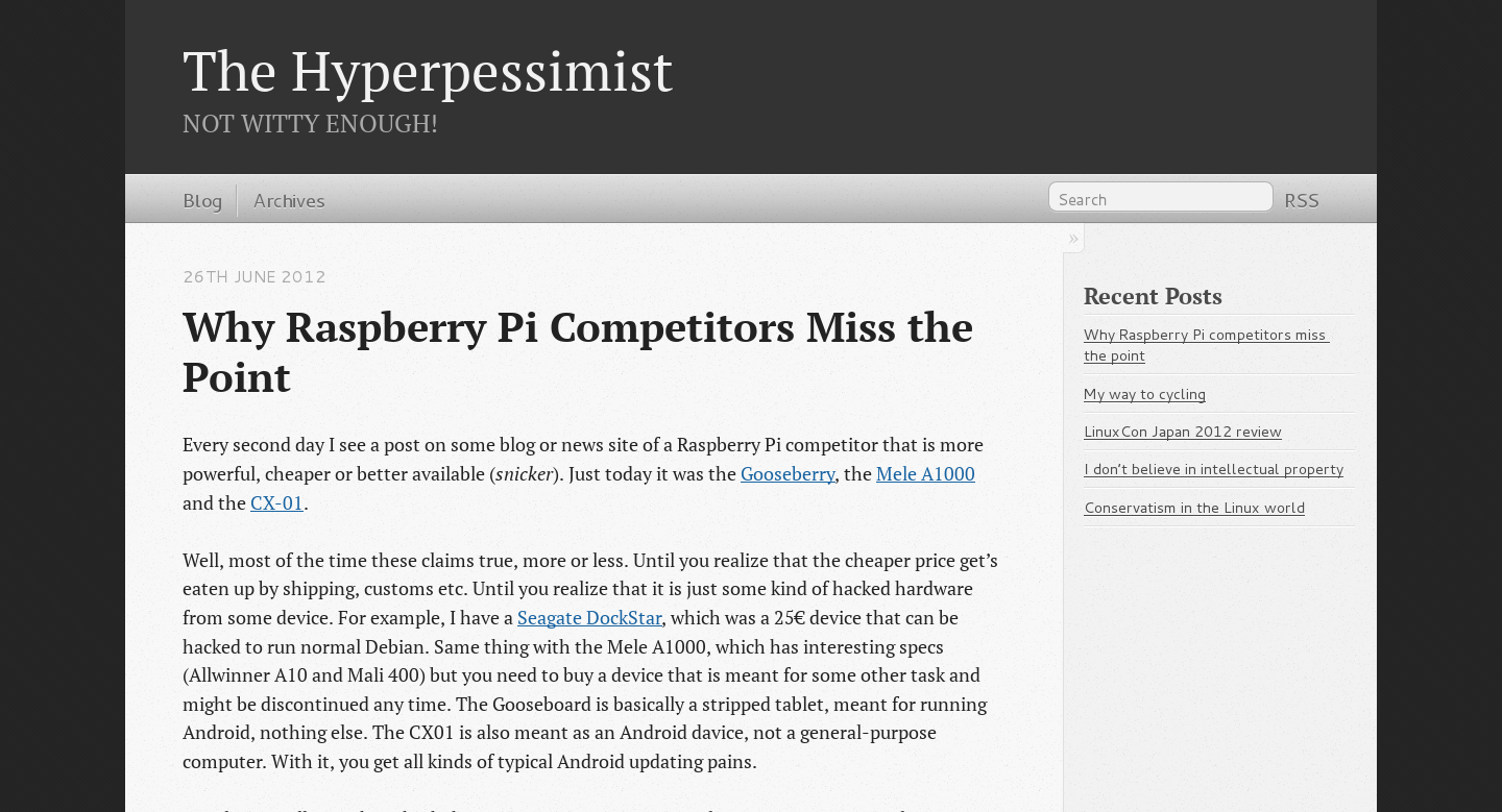 Review of Some Free, Open Source Fonts - The Hyperpessimist